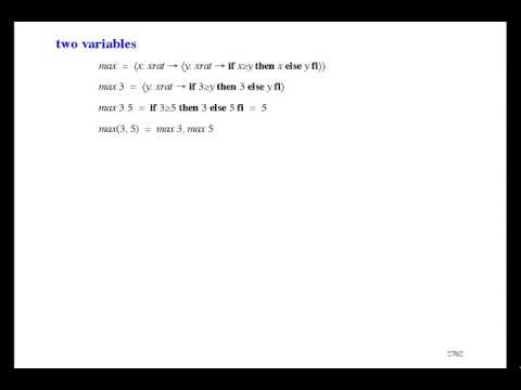 Formal Methods of Software Design - Functions [5/33]