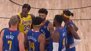 Dwight howard messing up with nuggets!!! los angeles lakers vs denver nuggets game 1 western conference finals nba bubble playoffs 2020, wins &...
