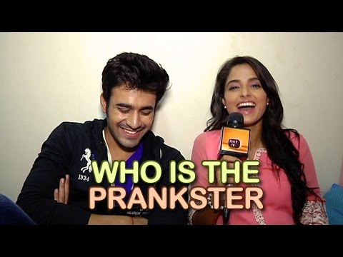 Pearl and Ashmita aka Abeer and Meher of Badtameez Dil talk about PRANKS they play on each other