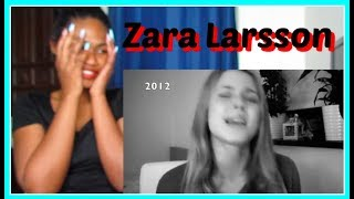 Zara Larsson's voice through the years (2008-2015) | Reaction