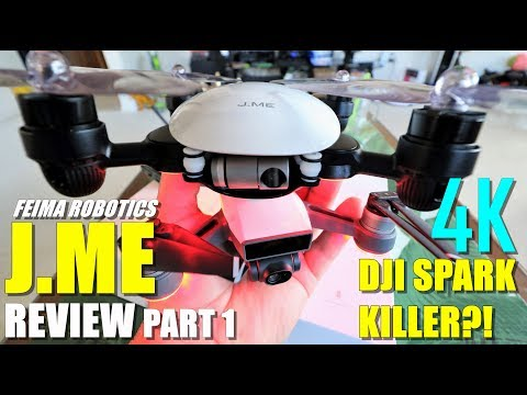 DJI SPARK KILLER?! - 4K Feima Robotics J.ME Drone Review - Part 1