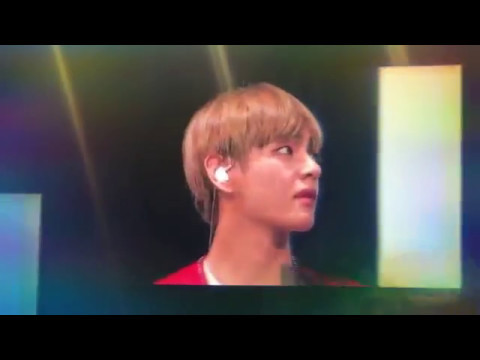 Bts The Wings Tour Manila Day 2 ❤ ( Taehyung Funny Face Reaction )