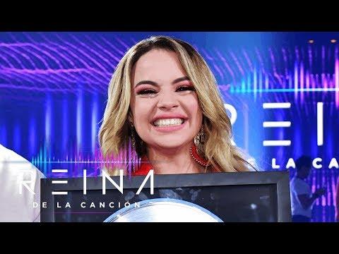 Yennis Bencosme es la ganadora de Reina de la Canción