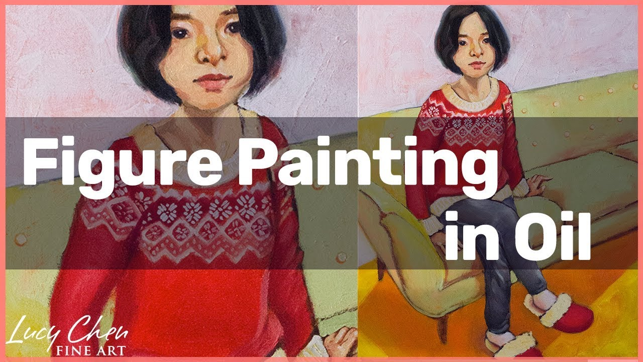 How To Paint A Full Figure Self Portrait Painting Titled Favourite Place