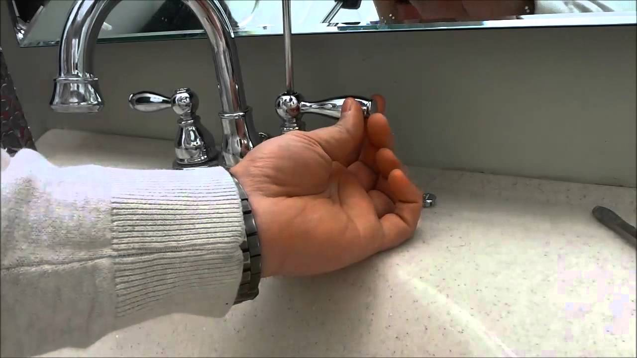 How To Fix A Loose Faucet Handle EASILY - YouTube