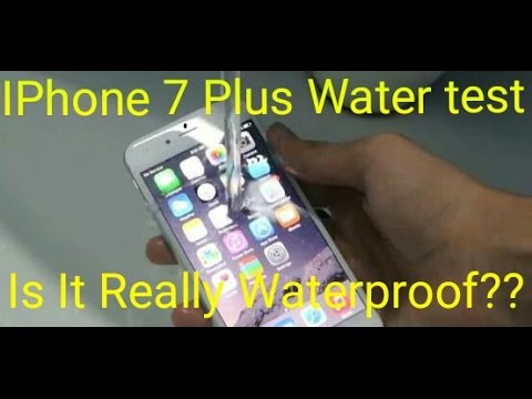 iphone water test iphone 7 plus water test is it really waterproof 12483