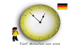 Wie viel Uhr ist es?  Deutsch ~ How to tell the time in German