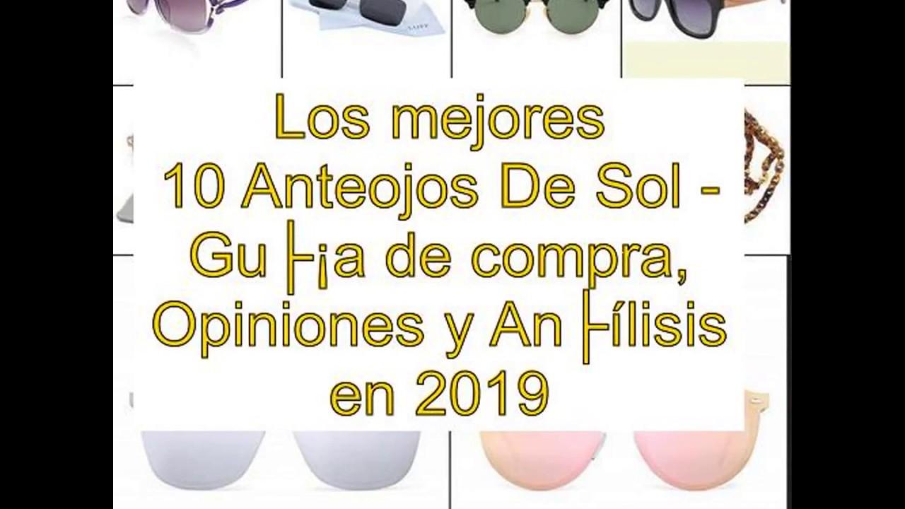 Los mejores 10 Anteojos De Sol - Guía de compra 6c2ed645f90e
