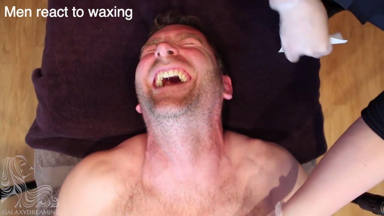 Men React to Waxing - Montage