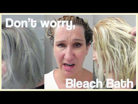 How To: Bleach Bath
