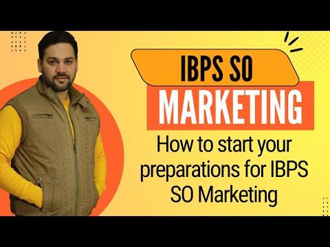 IBPS SO Marketing Professional Knowledge PDF