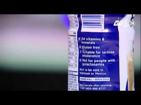 VTC14_Hãng Abbott đề nghị tiêu hủy sữa Ensure nhập lậu