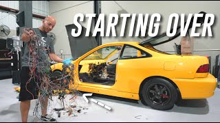 TORE APART MY K24 INTEGRA! Getting Ready For Something New