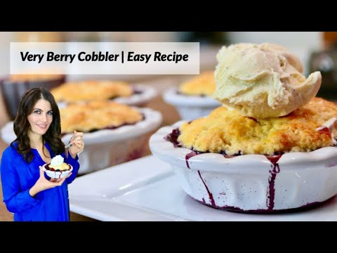 Download How to Make a Very Berry Cobbler | Easy Recipe