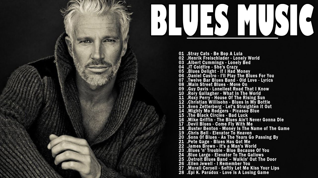 Download Blues Music | Best Blues Rock Songs Of All Time | Slow Blues / Blues Rock Ballads Music