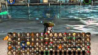 Lego Pirates Of The Caribbean The Video Game - All Playable Characters Unlocked!(READ!!! Interested in video game tester's job? - visit http://www.videogametestersjob.com Here are all the characters that are unlocked! For more, ask questions!, 2011-06-05T19:38:35.000Z)