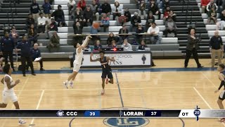 Boys' Varsity Basketball - Lorain vs. Cleveland Central Catholic 1-21-20 (Gm 14)