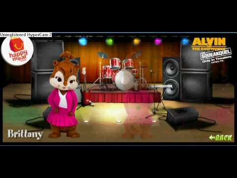 Mcdonalds Alvin And The Chipmunks 2 The Squeakquel Happy Meal Youtube