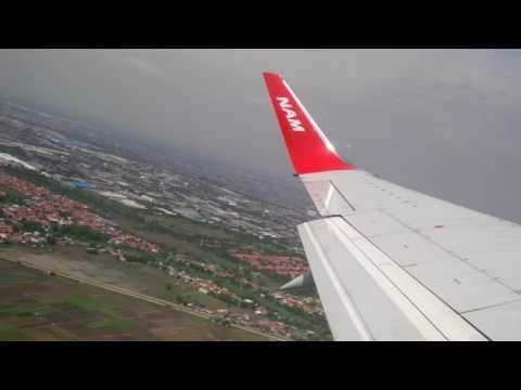 Pesawat NAM Air Take Off Dengan Kecepatan Super Maksimal Di Bandara Internasional Soekarno Hatta