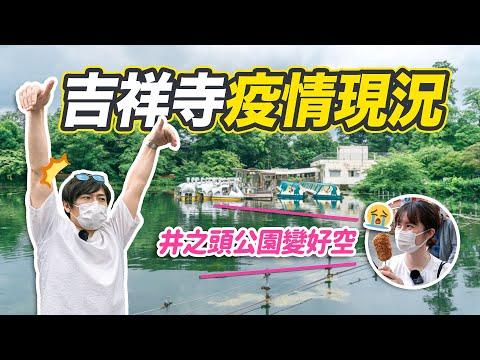 【日本疫情現況】吉祥寺現在變得怎樣?井之頭公園散步、逛商店街吃炸肉丸,東京吉祥寺一日遊!