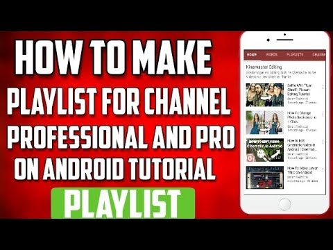 How To Make Playlist on YouTube Channel | Hindi | Android