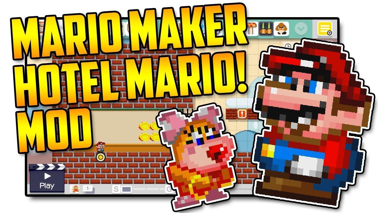 Hotel Mario! - Super Mario Maker Mod