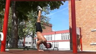 Handstand push up training !  Lengyel Gábor
