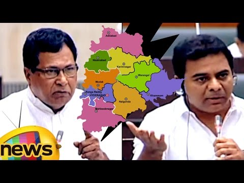 KTR Warns Jana Reddy For Insulting Telangana Formation | TS Assembly Winter Session | Mango News