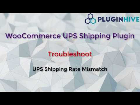Troubleshoot UPS Shipping Rates Mismatch when using WooCommerce UPS Shipping plugin thumbnail