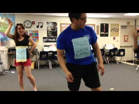 The Battle - Jungle Book Choreography, Jefferson Elementary School