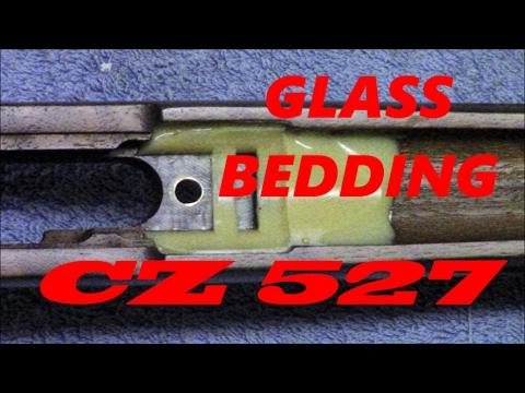 CZ 527  GLASS BEDDING 17 HORNET #2