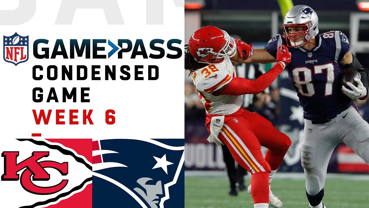 Chiefs vs. Patriots | Week 6 NFL Game Pass Condensed Game of the Week