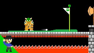 Level UP: What Bowser does while waiting for Mario