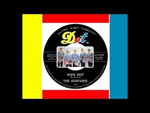 The Surfaris - Wipe Out (Original) 1963