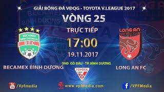 Binh Duong vs Dong Tam Long An full match