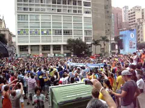 Hinchada Argentina - Fan Fest - Fifa World Cup - São Paulo 29-06-2014