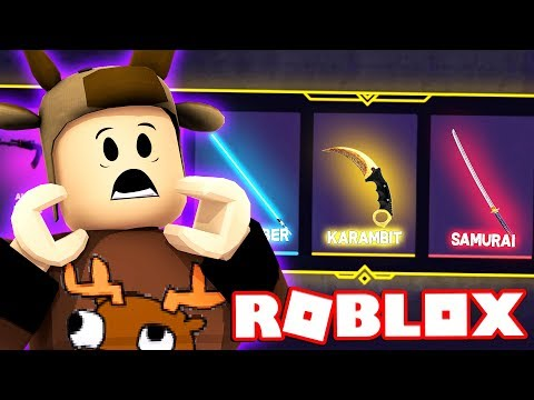RAREST CRATE UNBOXING IN ROBLOX! (Roblox Phantom Forces)