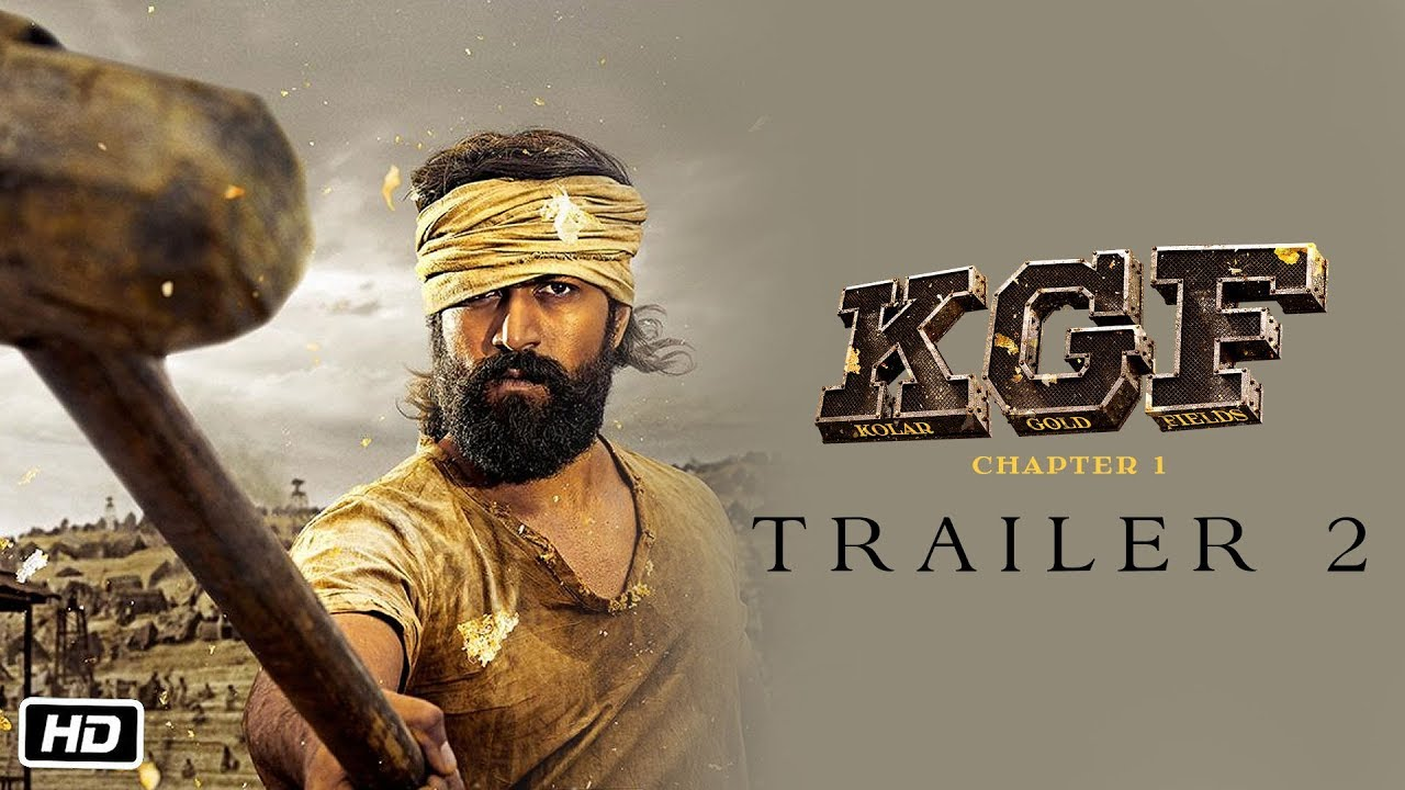 Kgf Trailer 2 Hindi Yash Srinidhi 21st Dec 2018 Youtube