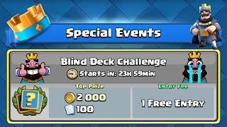 Clash Royale Blind Deck Challenge! [Nederlands]