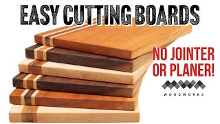 How to Make a Cutting Board with Minimal Tools