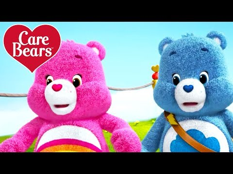Care Bears | Grumpy and Cheer Bear learn to work together!