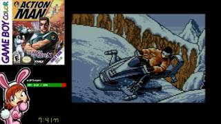 Action Man: Search for Base X (GBC) - Full Playthrough