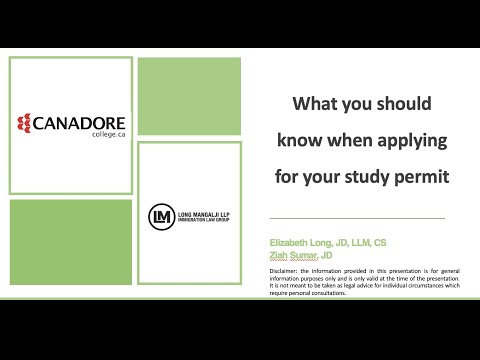 Idp S Study Abroad Insights Scholarships And Financials At Canadore College Canada Youtube