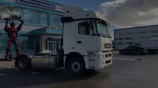КАМАЗ 5490 - S5 - 4X2 - 2017 - ОБЗОР ПЕРЕД ПРОДАЖЕЙ - Продажа грузовых автомобилей с пробегом