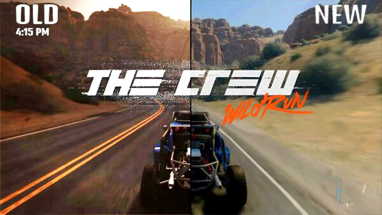 the crew graphics update ps4 comparison youtube. Black Bedroom Furniture Sets. Home Design Ideas