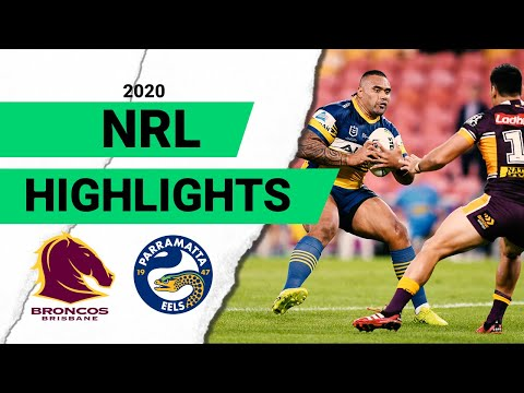 Broncos V Eels   Round 3 2020 Match Highlights   Telstra Premiership   NRL