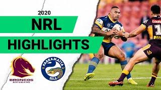 Broncos v Eels | Round 3 2020 Match Highlights | Telstra Premiership