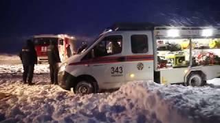 МЧС: Видео с места поисков пассажиров и членов экипажа упавшего Ан-148