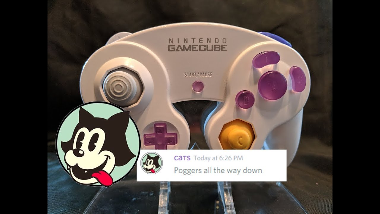 RetroCatGaming Gamecube Controller Custom Buttons Unboxing + First  Impression