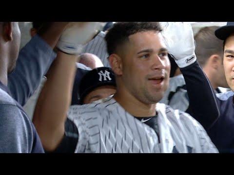 BAL@NYY: Yankees launch five home runs in 16-3 win